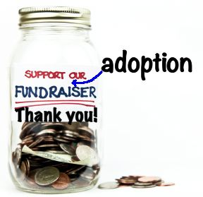 adoption fundraiser jar new